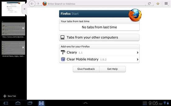 Android版Firefox 9手机浏览器下载