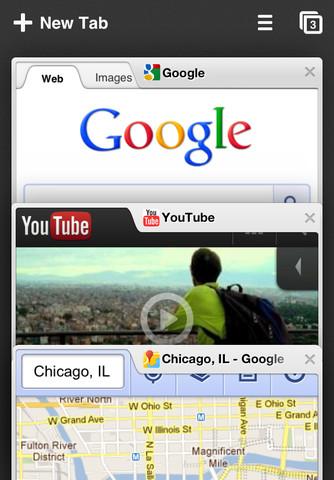 Chrome 浏览器For ios版正式上架App Store