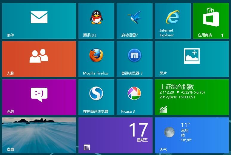 Firefox 浏览器 For Windows 8 版本即将发布
