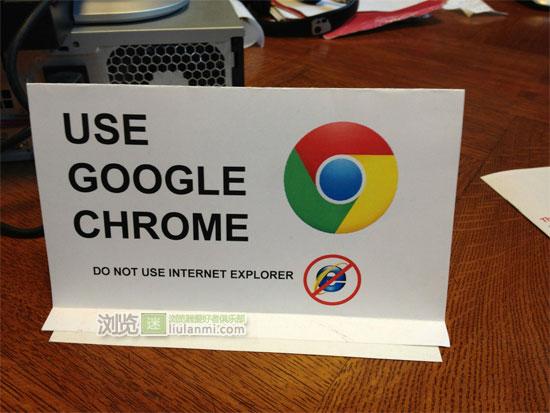 纽约公共图书馆推荐读者使用Chrome浏览器