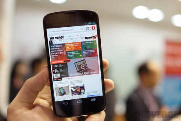 Opera发布Webkit版Android浏览器