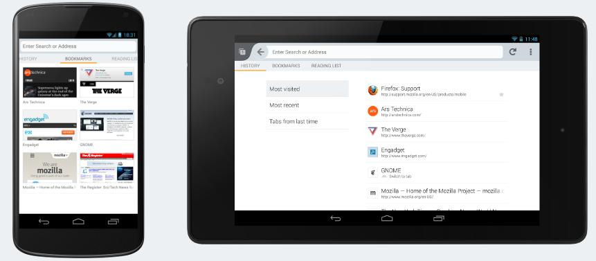 Android版Firefox手机浏览器即将迎来UI大变革
