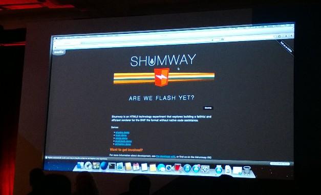 Mozilla研发Flash Player替代品:Shumway