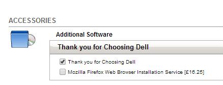 奇葩:戴尔官方为用户安装Firefox竟收费16.25欧元