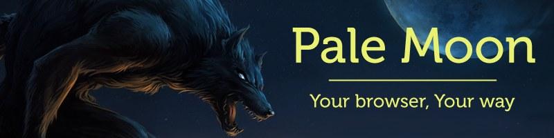 Pale Moon 苍月浏览器 25.0.2 正式版发布
