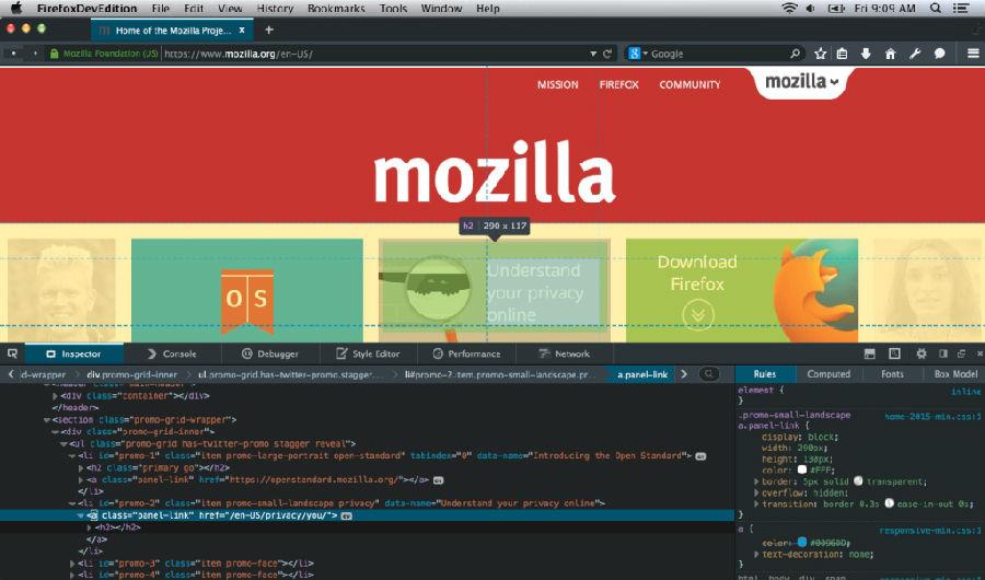 火狐浏览器开发者专版正式上线