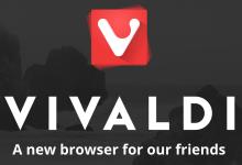 Vivaldi 浏览器 1.0.298.15 版本发布