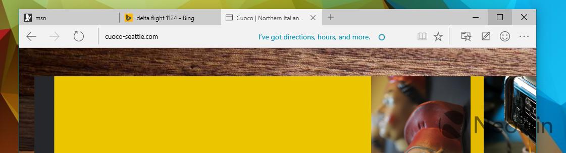 即将面世!Spartan浏览器细节图赏