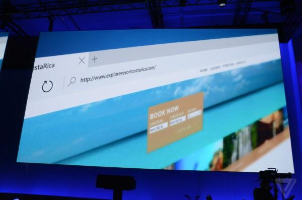 微软新浏览器命名Edge 可兼容Chrome和Firefox插件