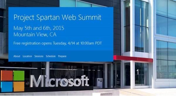 微软在谷歌总部后院召开Spartan浏览器开发者峰会