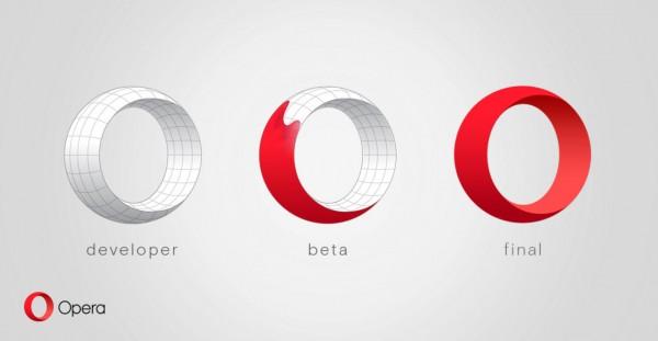 Opera浏览器 33.0.1990.43 正式版发布,全新logo